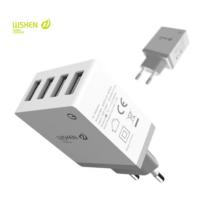 WSKEN 4port USB töltő adapter, 5V/2,1A