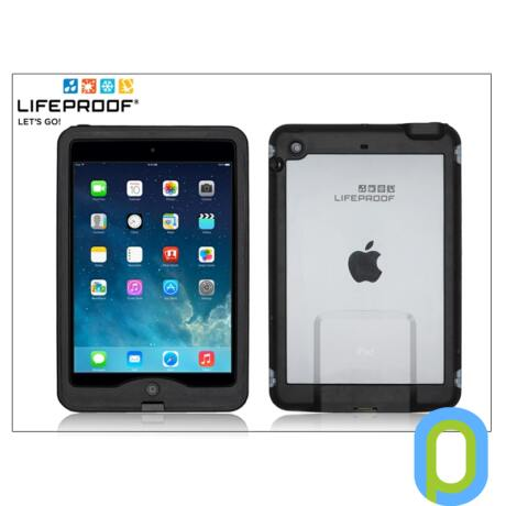 Apple iPad Air víz- por- és ütésálló védőtok - Lifeproof Nüüd - black