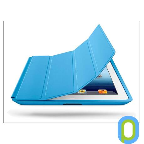 Apple iPad2/iPad3/iPad4 eredeti, gyári tok (Smart Case) - MD458ZM - blue