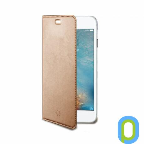Celly Air Case iPhone 7 Plus flip cover, RoseGold