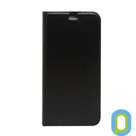 Galaxy S8 oldalra nyíló tok, fekete