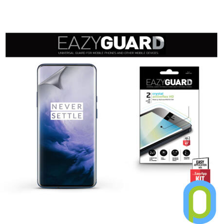 OnePlus 7 Pro képernyővédő fólia - 2 db/csomag (Crystal/Antireflex HD)