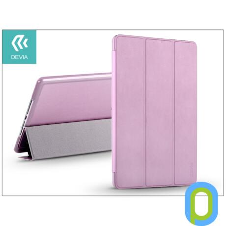 Apple iPad Air 2 védőtok (Smart Case) on/off funkcióval - Devia Original - pink