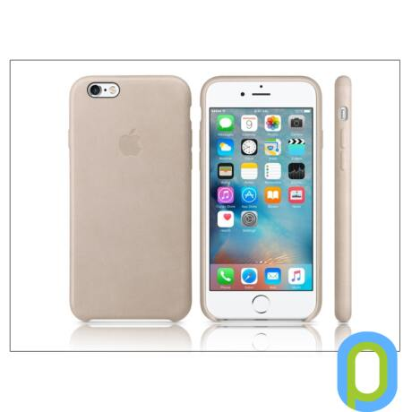 Apple iPhone 6S eredeti gyári bőr hátlap - MKXV2ZM/A - rose gray