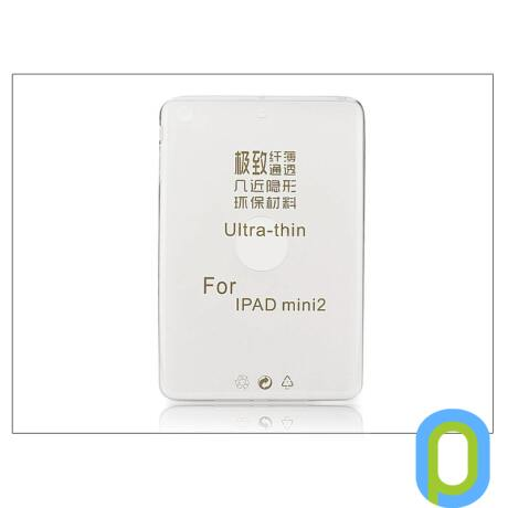 Apple iPad Mini/iPad Mini 2/iPad Mini 3 szilikon hátlap - Ultra Slim 0,3 mm - transparent