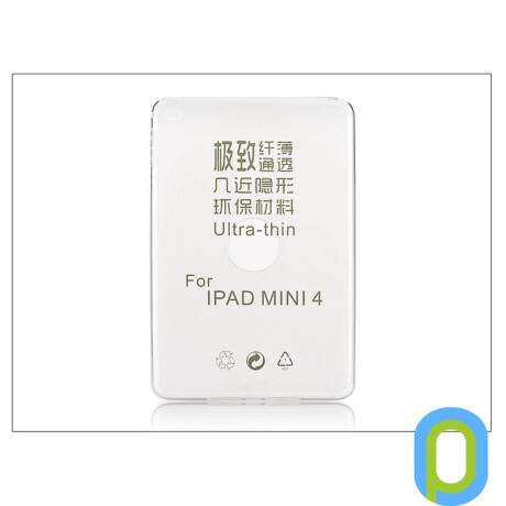 Apple iPad Mini 4/iPad Mini (2019) szilikon hátlap - Ultra Slim 0,3 mm - transparent