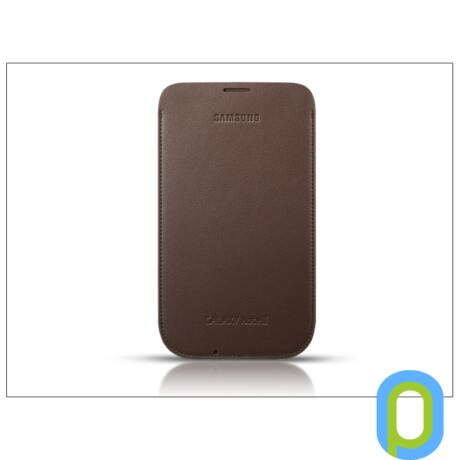 Samsung N7100 Galaxy Note II tok - EFC-1J9LDEGSTD - világos barna
