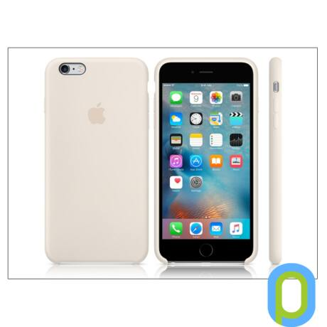 Apple iPhone 6 Plus/6S Plus eredeti gyári szilikon hátlap - MLD22ZM/A - antique white
