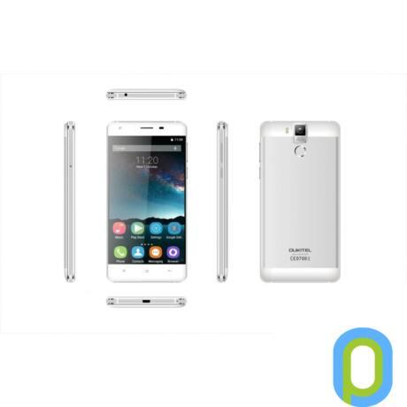 Oukitel K6000 Pro Dual-Sim LTE fehér kártyafüggetlen mobiltelefon