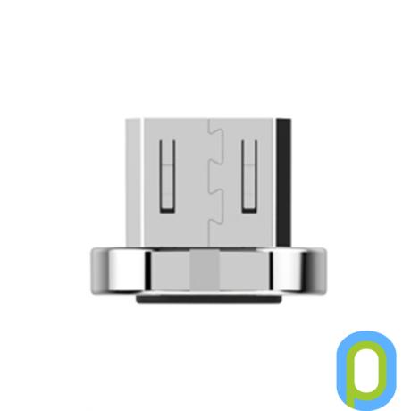 WSKEN microUSB csatlakozófej, WSKEN mágneses töltő- és adatkábelhez.