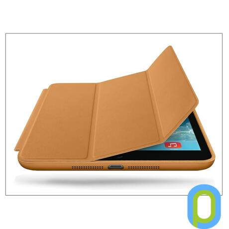 Apple iPad Mini/iPad Mini 2 eredeti, gyári tok (Smart Case) - ME706ZM/A - brown