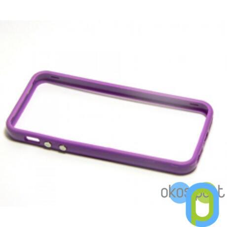 Bumper keret, Apple iPhone 5/5s/SE, lila