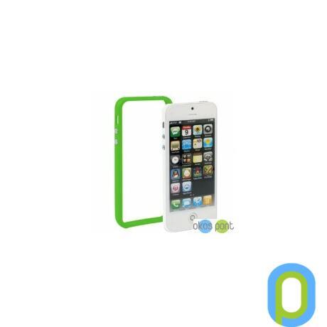 Bumper keret, Apple iPhone 5/5s/SE, zöld