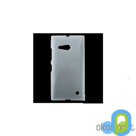 Szilikon tok, Nokia Lumia 730, átlátszó-g