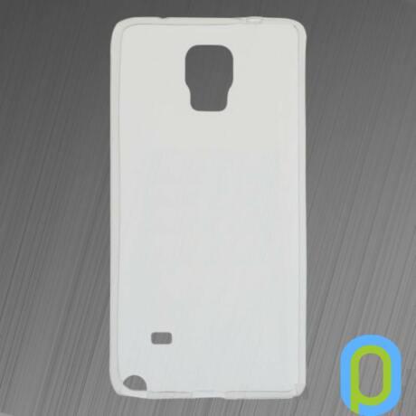 Szilikon tok, Samsung Galaxy Note 4, fehér-g