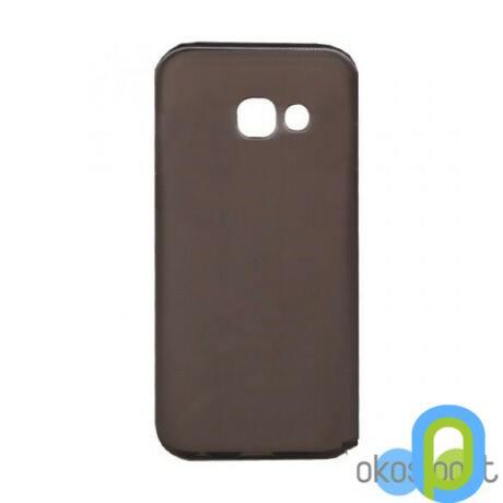 Szilikon tok, Samsung Galaxy A5, füst színű-g