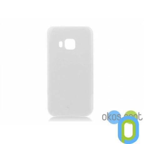 Szilikon tok, HTC One M9, átlátszó-g