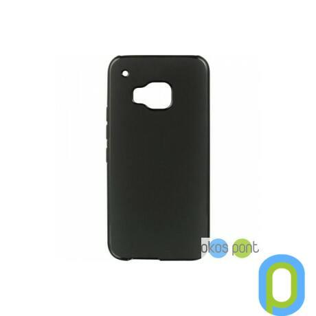 Szilikon tok, HTC One M9, fekete-g