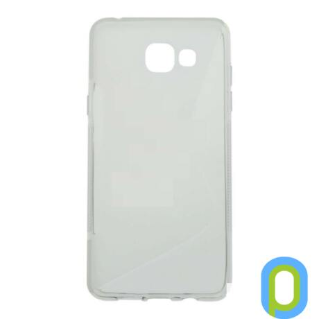 Szilikon tok, Samsung Galaxy A5 (2016), fehér-g