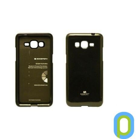Szilikon tok, Samsung Galaxy S6, zselés, fekete