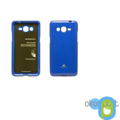 Szilikon tok, Samsung Galaxy S6, zselés, kék