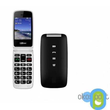 Maxcom MM823 mobiltelefon kártyafüggetlen, vészhívóval Fekete