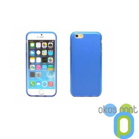 iPhone 6 vékony TPU szilikon hátlap,kék