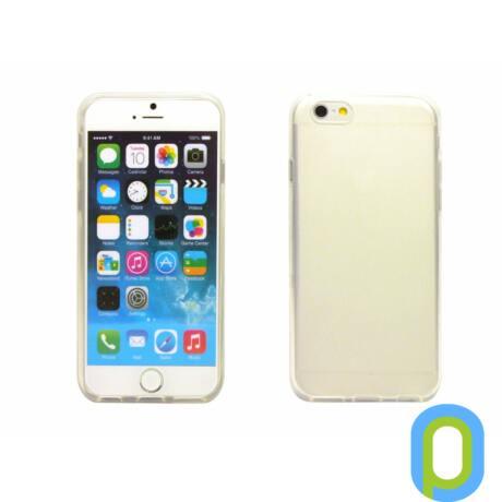 iPhone 6 vékony TPU szilikon hátlap,Átlátszó