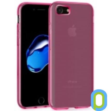 iPhone 7 vékony TPU szilikon hátlap, Pink