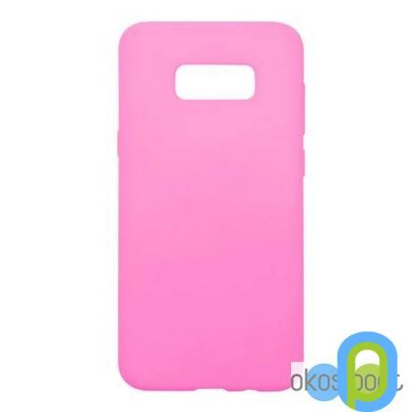 Szilikon tok Samsung S8+ rózsaszín