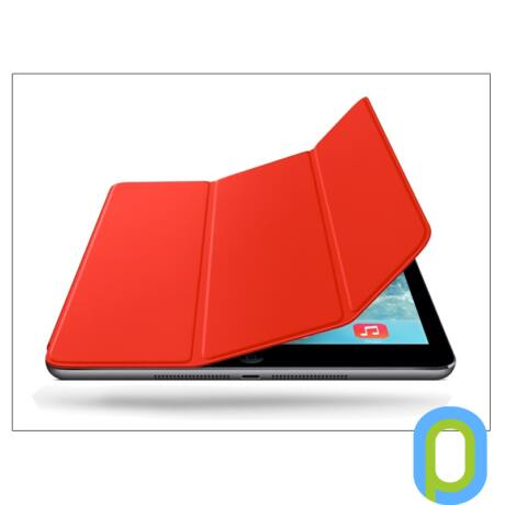 Apple iPad Air eredeti, gyári Smart Cover - MF058ZM/A - red