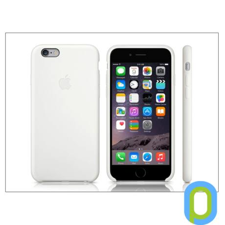 Apple iPhone 6 eredeti gyári szilikon hátlap - MGQG2ZM/A - white