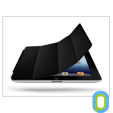 Apple iPad2/iPad3/iPad4 eredeti, gyári bőr Smart Cover - MD301ZM - black