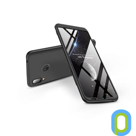 Huawei Y6 (2019)/Y6 Prime (2019) hátlap - GKK 360 Full Protection 3in1 - fekete