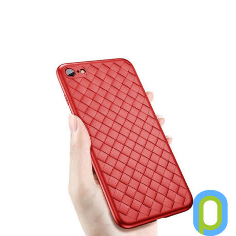 WSKEN Woven Case iPhone 7-8, piros
