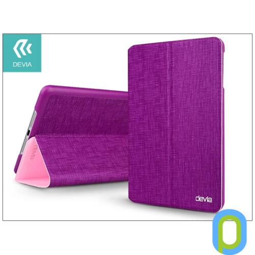 Apple iPad Mini 2/Mini 3 védőtok (Smart Case) on/off funkcióval - Devia Youth Series - purple/pink