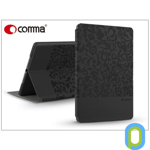 Apple iPad Mini 4/iPad Mini (2019) védőtok (Book Case) on/off funkcióval - Comma Charming - black