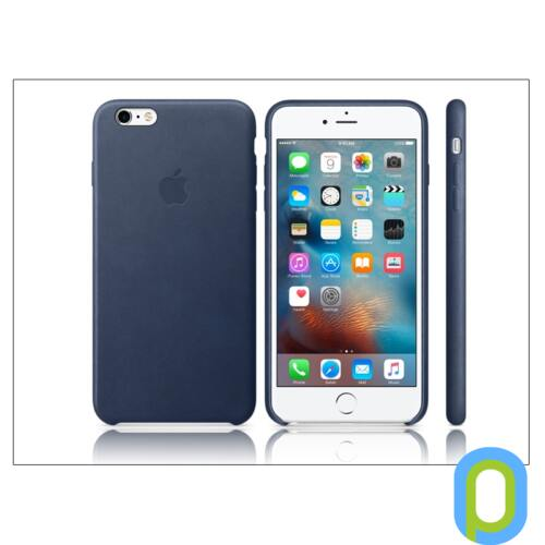 Apple iPhone 6 Plus/6S Plus eredeti gyári bőr hátlap - MKXD2ZM/A - midnight blue