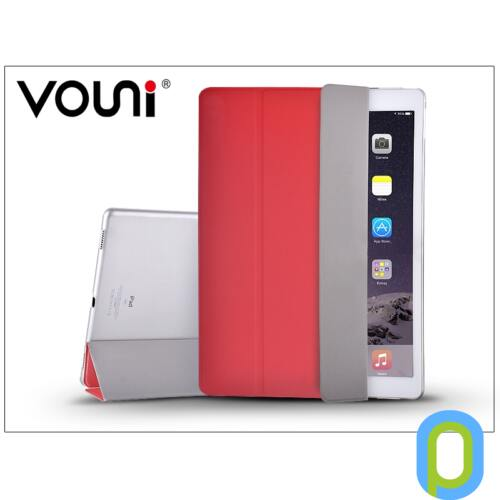 Apple iPad Pro 12.9 védőtok on/off funkcióval - Vouni Simple Grace - red