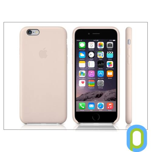 Apple iPhone 6 eredeti gyári bőr hátlap - MGR52ZM/A - soft pink