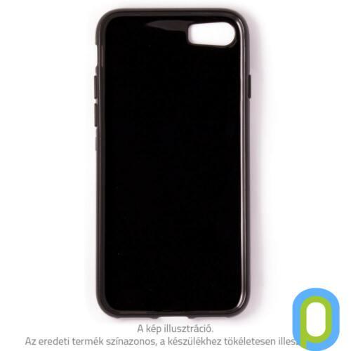 iPhone 8 Plus vékony TPU szilikon hátlap, Fekete