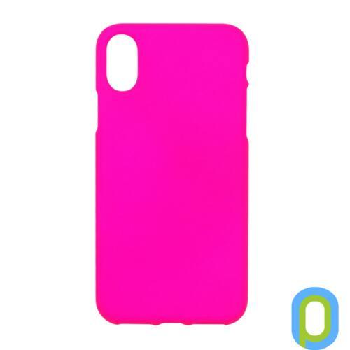 Neon Collection Prémium tok, iPhone X Pink