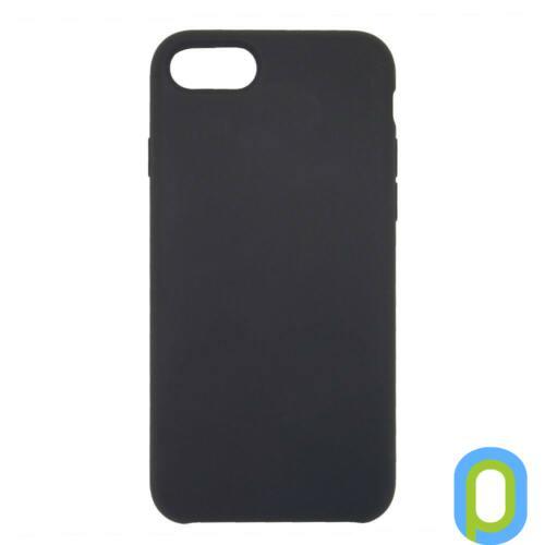 Premium szilikon tok, iPhone SE(2020)/ 8/7, Fekete