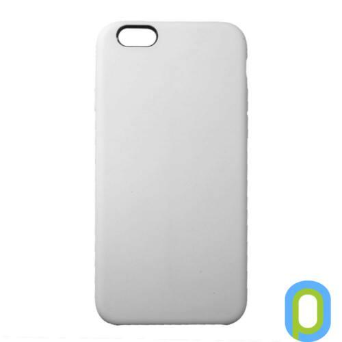 Premium szilikon tok, iPhone SE(2020)/ 8/7, Fehér
