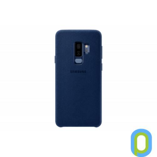 Samsung Galaxy S9 Alcantara bőr hátlap,Kék