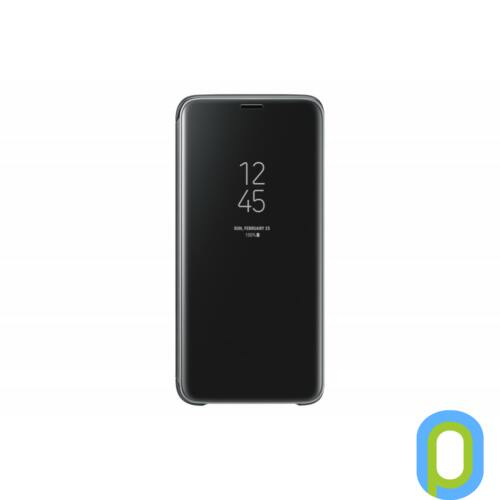 Samsung Galaxy S9+ clear view cover tok, Fekete