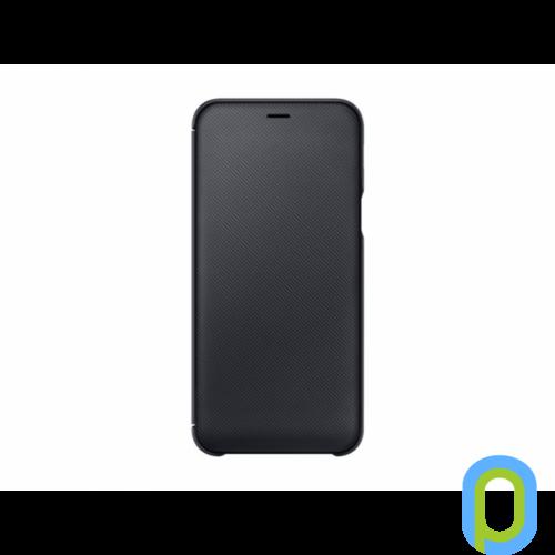 Samsung Galaxy A6 flip cover tok, Fekete