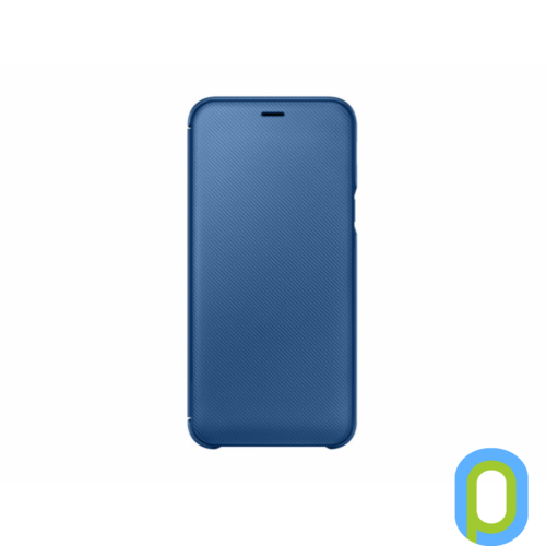 Samsung Galaxy A6 flip cover tok, Kék