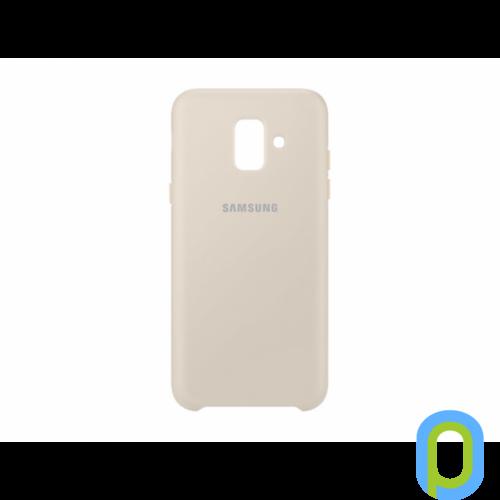 Samsung Galaxy A6 protective cover hátlap, Arany