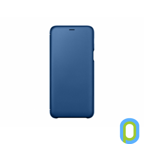 Samsung Galaxy A6+ flip cover tok, Kék